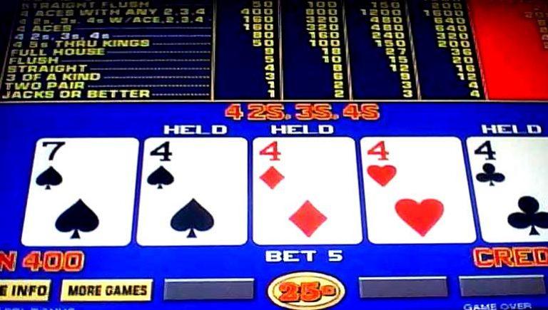 Video Poker Oyunları